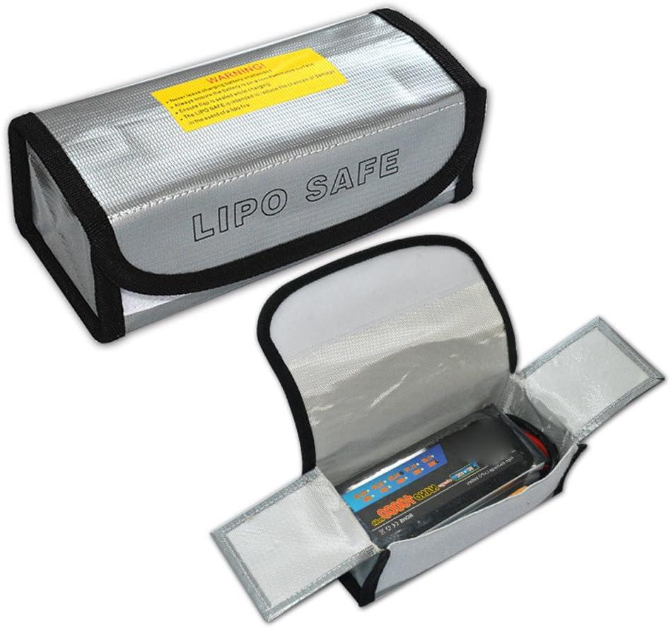 LiPo Li-Po Battery Fireproof Safety Guard Safe Bag 185*75*60MM Festiday LiPo Battery Safety Bag