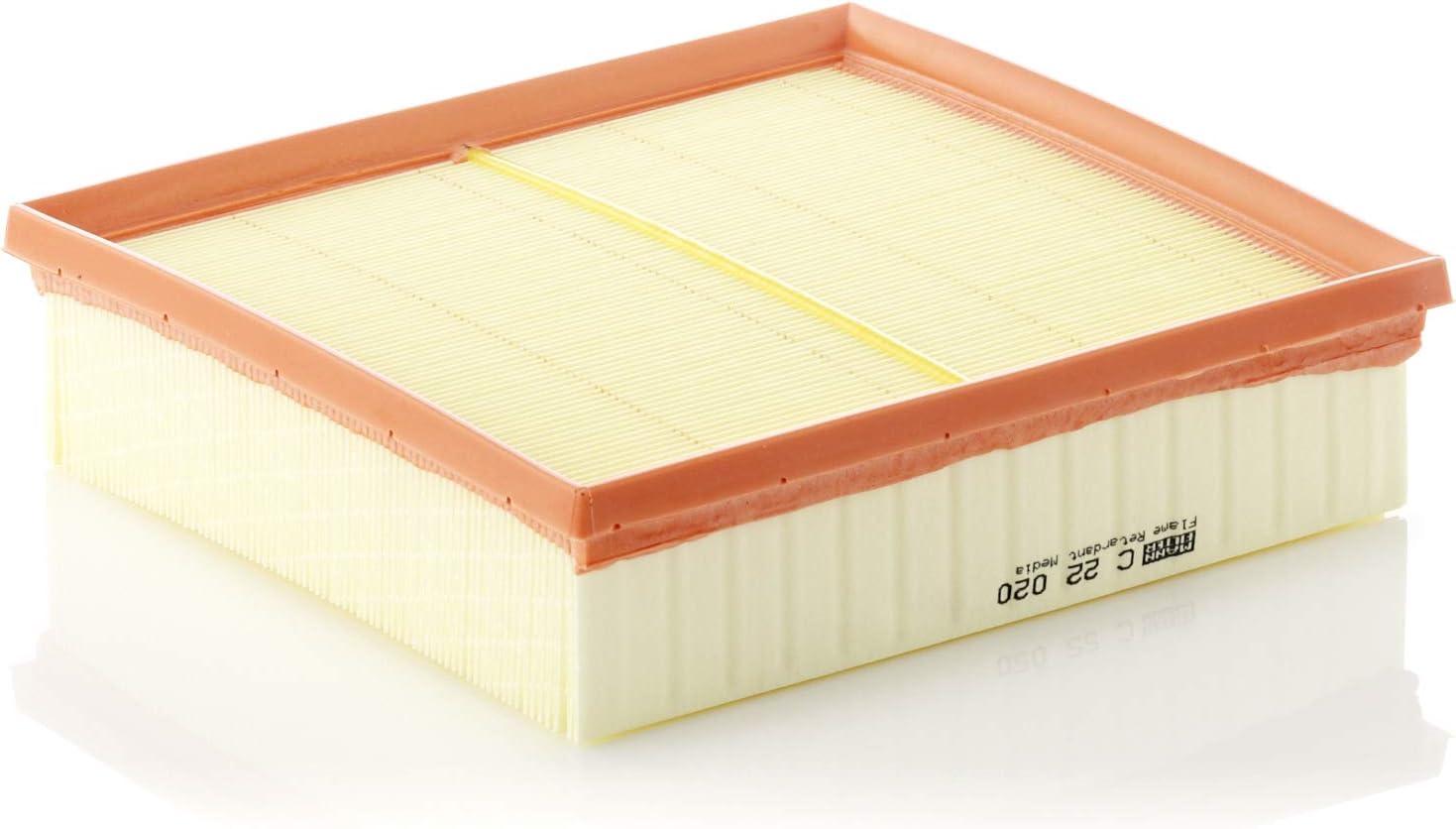 Original Mann Filter Luftfilter C 22 020 Für Pkw Auto