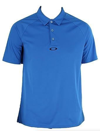 Oakley Bunker Basic Polo Golf Shirt, Ozone Blue, Size S: Amazon.es ...