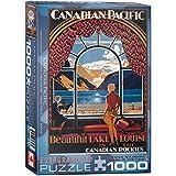 Eurographics CP Rail Beautiful Lake Louise 1000-Piece Puzzle