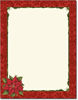 amazon com christmas stationery cardinal in pine tree holiday