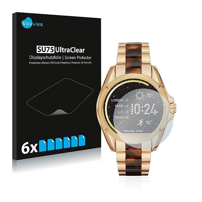 Savvies SU75 UltraClear Michael Kors Access Bradshaw 6 Pieza(s): Amazon.es: Electrónica