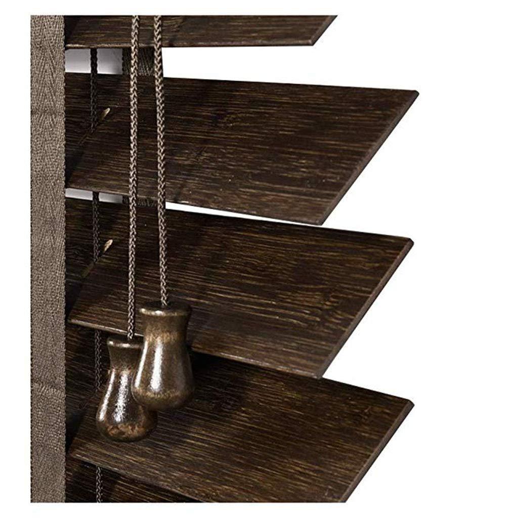 LPD-カーテン ベネチアンブラインド、竹ブラインド寝室リビングルームの研究防水木製ブラインドシェーディングマルチサイズカスタム (Color : B, Size : 140X180CM) 140X180CM B B07T8XFQFX