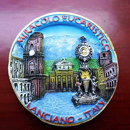 Jian Ai Craft 3D,polyresin,European Italy Tourist Souvenir,Resin Fridge Magnet Creative Home Kitchen Decoration Promotional Gift