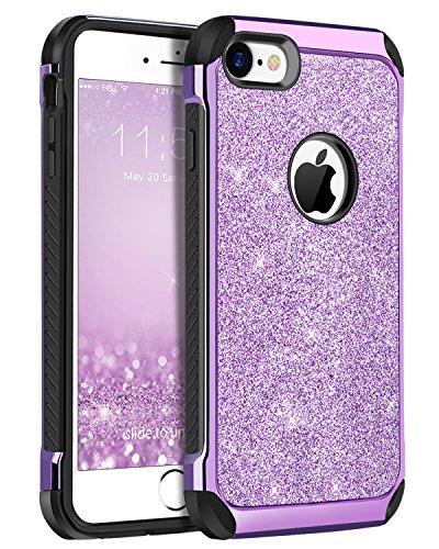 iPhone 8 Case, iPhone 7 Case, BENTOBEN Shockproof Glitter Sp