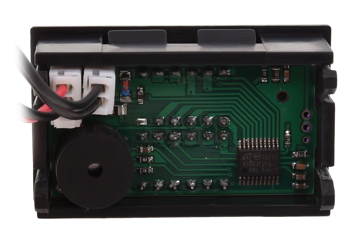 Phobya Thermometer mit Alarmfunktion blau//rot Wasserk/ühlung /Überwachung