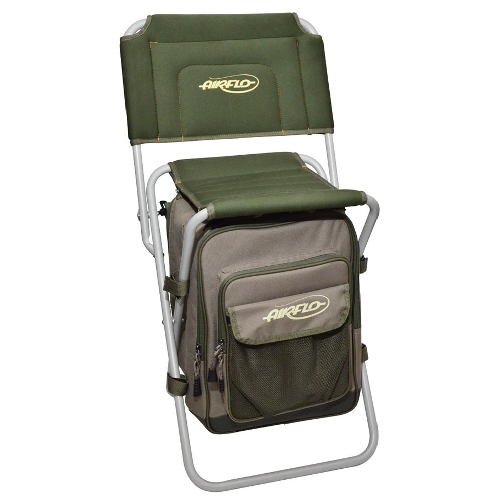 Airflo Comfort Zone Fishing Stool Seat Chair Rucksack Backpack Bag:  Amazon.co.uk: Sports U0026 Outdoors