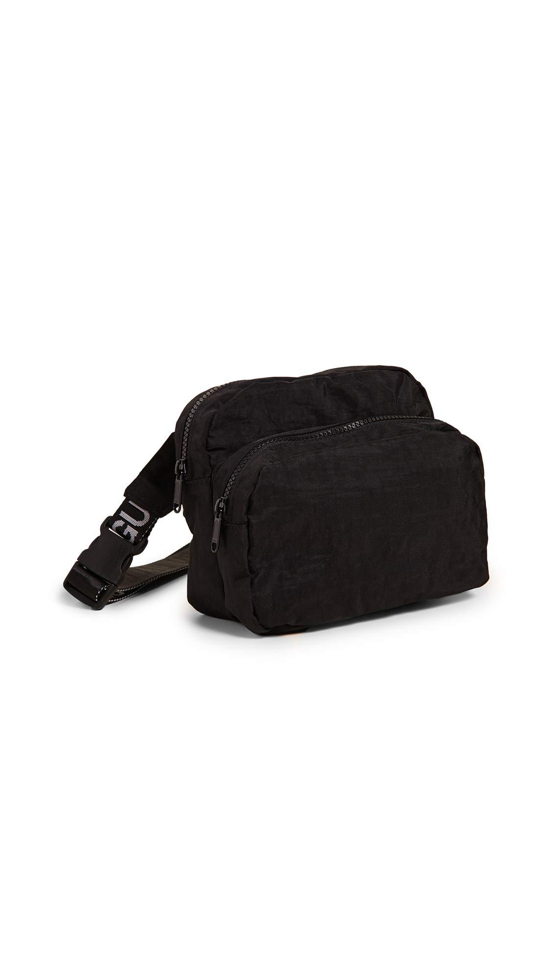BAGGU Women's Fanny Pack, Black, One Size