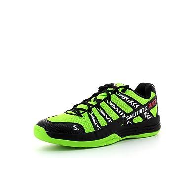 Salming - Zapatillas de balonmano para hombre verde verde - Fluo green / black Talla: