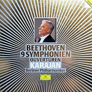 Beethoven-Karajan -les 9 Symphonies [Vinilo]