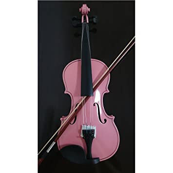 Estudiante violín acústico completo de 1/4 Arce abeto con ...