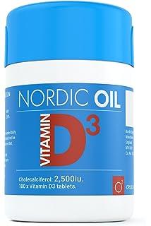 Vitamina D3 2.500 IU - 60 comprimidos vegetarianos, producto alemán de calidad