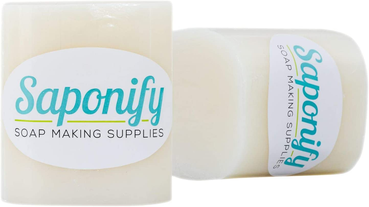 2LB Goat's Milk Melt and Pour Soap Base | Make Your Own Gentle Detergent-Free Glycerine Soaps with Professional Grade Base by Saponify: Arts, Crafts & Sewing