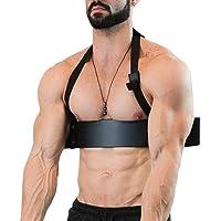4487 Barra curl de bíceps para ejercicio aislado