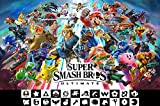 "MCPosters Super Smash Bros Ultimate Switch Poster GLOSSY FINISH - NVG229 (24"" x 36"" (61cm x 91.5cm))"
