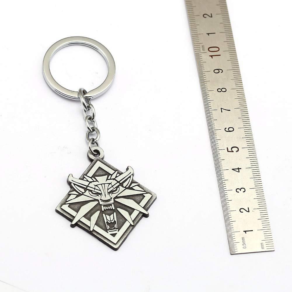 Amazon.com: Keychain Game New The Witcher 3 Keychain Game ...