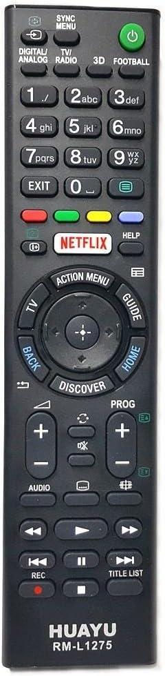Mando a Distancia para Sony LCD/LED TV (Botón Netflix): Amazon.es: Electrónica