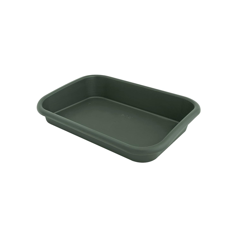 Elho green basics garden tray accessory - leaf green 6871105936000