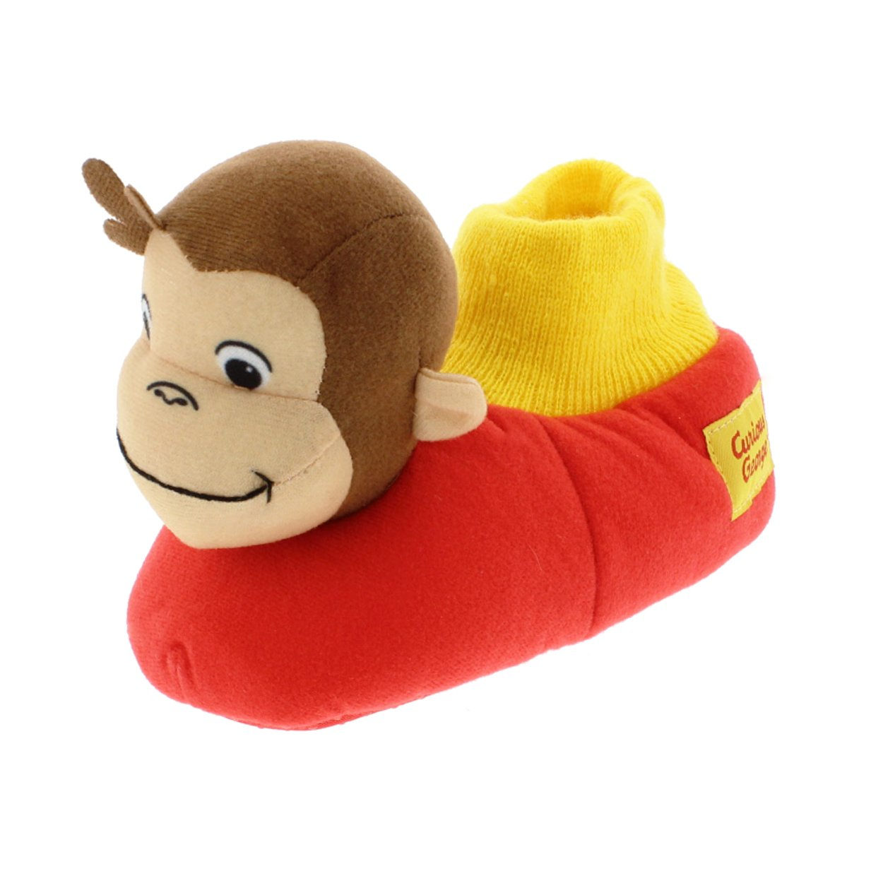 Curious George Boys Girls Sock Top Slippers (Toddler/Little Kid) manufacturer