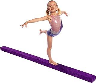vengaconmigo Poutre de Gym Poutre d'Equilibre Pliable Entraînement pour Enfant Adulte Maison Sport Gym Yoga Fitness Rééducation Dimension : 210 x 10 x 6,5 cm