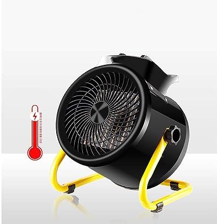 XPZ00 Calentadores Caseros Industriales del Termóstato, Secadores De Alta Potencia,Black