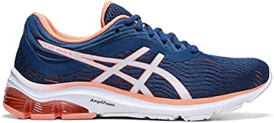 asics gel-pulse 10 women's running shoes blue print test