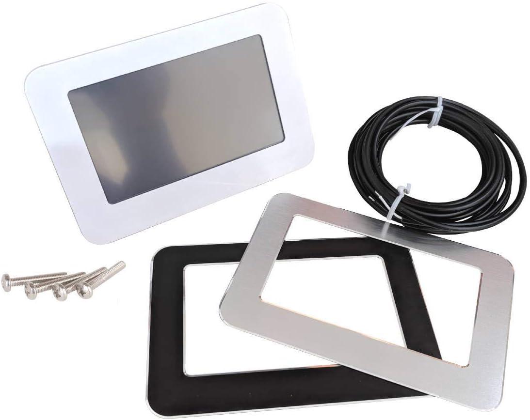 MCD5 Raum-Thermostat Digital Bodenfühler Touchscreen Fußbodenheizung Farbdisplay
