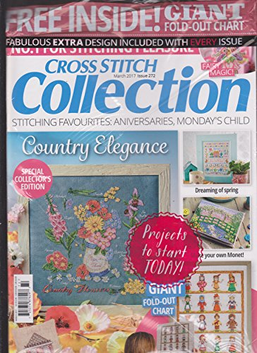 Cross Stitch Collection Magazine - Cross Stitch Collection Magazine March 2017