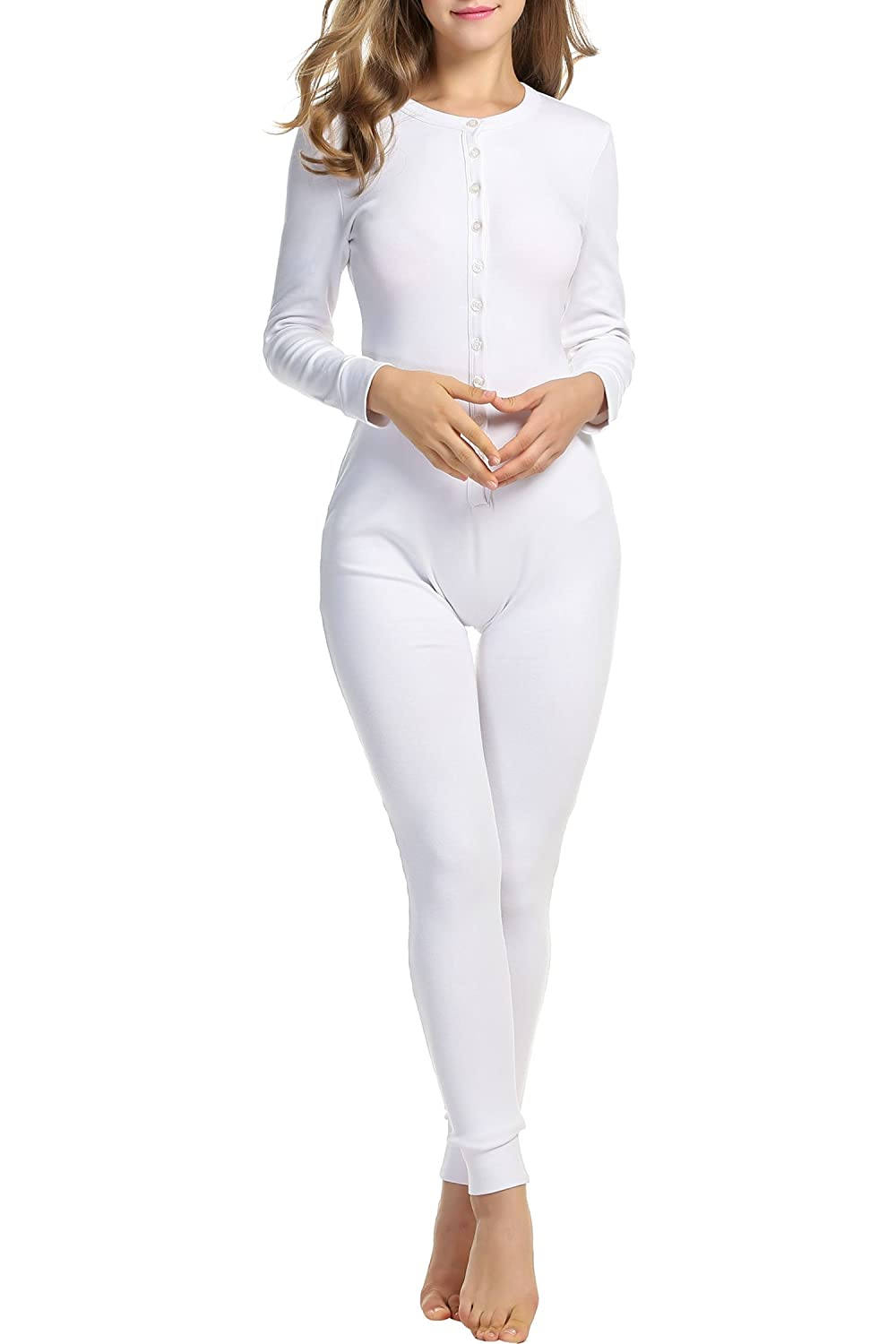 HOTOUCH Women's Thermal Underwear Set Long Johns for Women M-XXL AMK005050