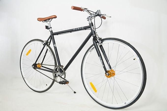 Bicicleta urbana de piñón fijo, de una sólida velocidad, de 28 ...