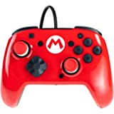 PDP Switch Controller Faceoff Mod Kit Red Mario - Nintendo Switch