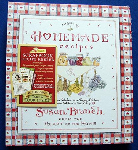 Susan Branch Scrapbook Recipe Keeper Homemade Recipes - Recipe Scrapbook Stickers