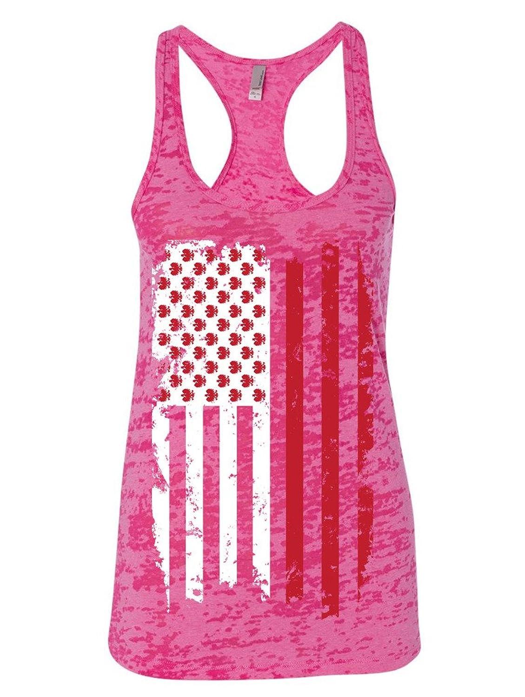 Manateez Women's Polish American Flag Design