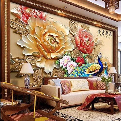 山笑の美 3d大カスタム壁紙壁画寝室リビングルームキッチン現代の美しい新鮮なリビングルーム寝室テレビ背景壁-280X200cm