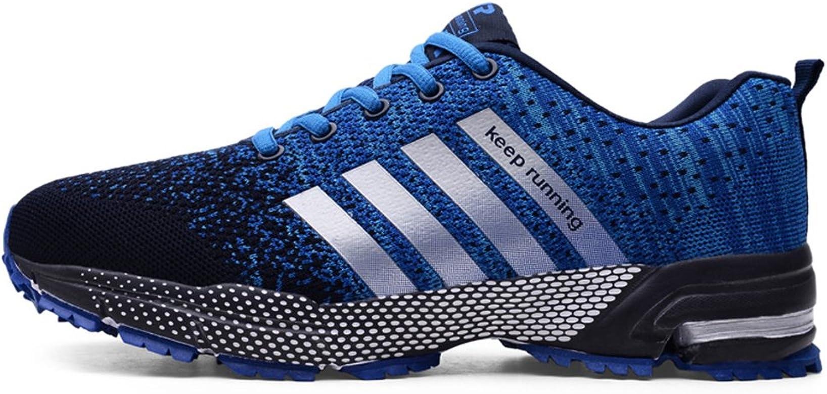 Deportes para Hombres Zapatos para Correr para Caminar Trainers Jogging Athletic Sneakers Zapatos Hombres: Amazon.es: Zapatos y complementos