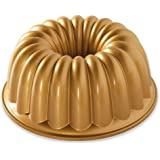 Nordic Ware Elegant Party Bundt Pan, 22.3 x 9.3 cm, Gold