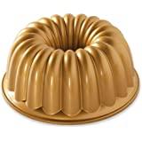 Nordic Ware Nordic ware-étagère Tortenplatte antiadhésive-elegant Party, Gold