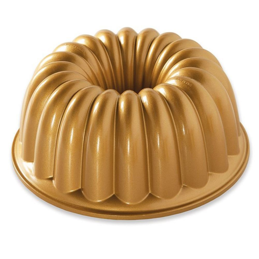 Nordic Ware 58677 Elegant Party Bundt Pan, 22.3 x 9.3 cm, Gold
