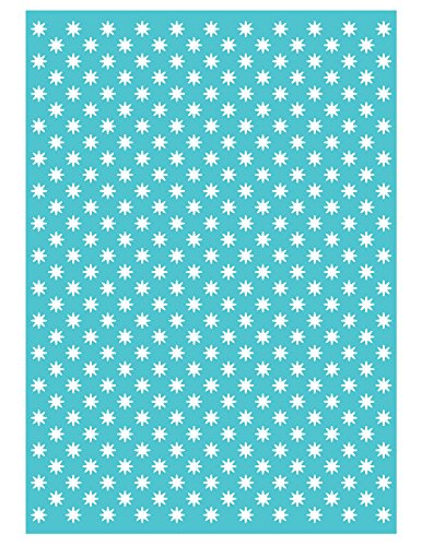 Craftwell USA Teresa Collins Embossing Folder, Stardust by Craftwell USA