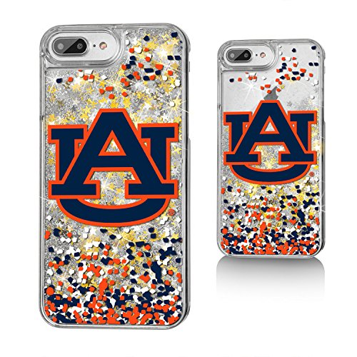 Auburn Tigers Cell Phone Case (Keyscaper Auburn Tigers Gold Glitter Case for the iPhone 6+/6S+/7+/8+ NCAA)