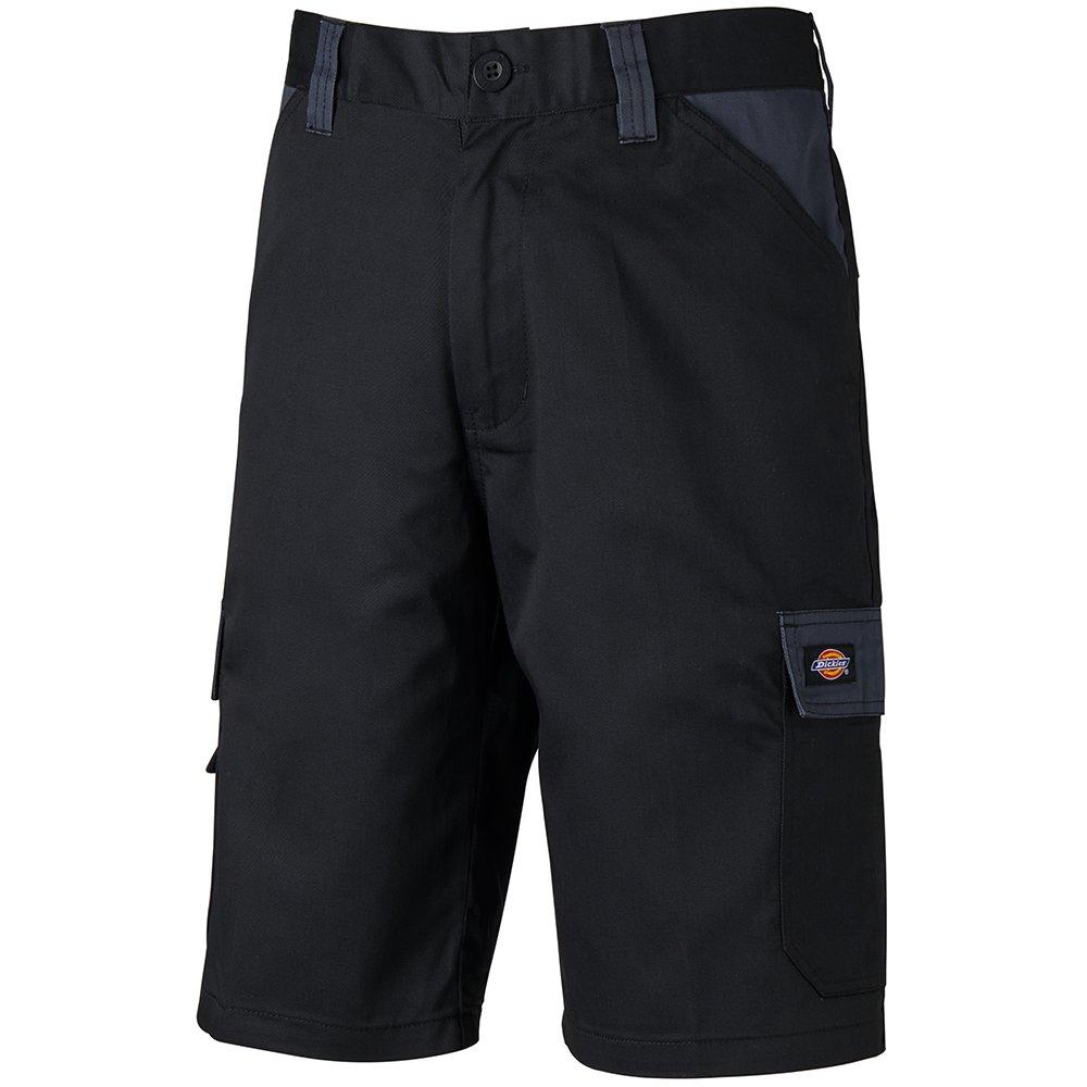 54 DE Dickies ED24//7SH Everyday Shorts Schwarz//Gr/ün
