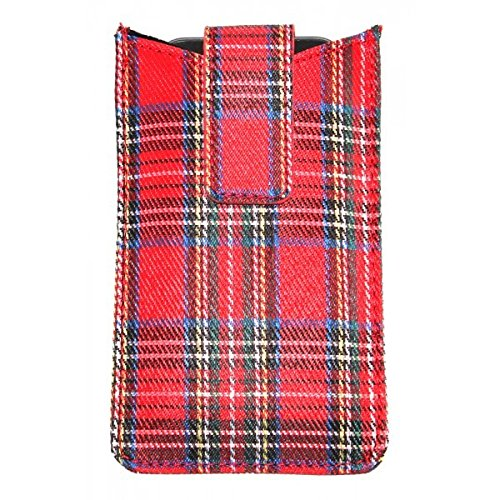 iPhone Slip Case in Royal Stewart Tartan iPhone Slip Case in Royal Stewart Tartan