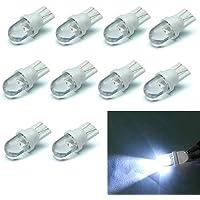 10pcs Blanco T10 LED Bombilla 12V 6500K 5W
