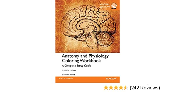 Amazon Anatomy And Physiology Coloring Workbook A Complete Study Guide Global Edition Law Express Questions Answers EBook Elaine N Marieb