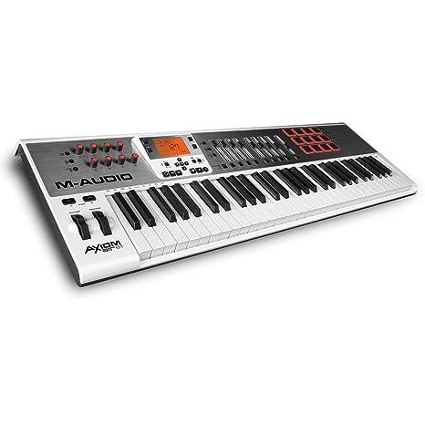 M-AUDIO Axiom AIR 61 - Teclado MIDI (USB, 97,2 cm