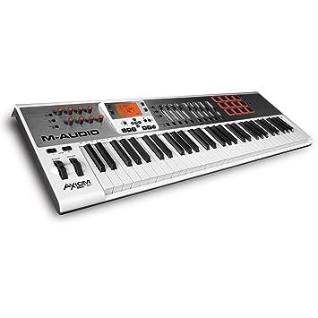 M-AUDIO Axiom AIR 61 - Teclado MIDI (USB, 97,2 cm, 38,1 cm, 10,2 cm, DC): Amazon.es: Instrumentos musicales