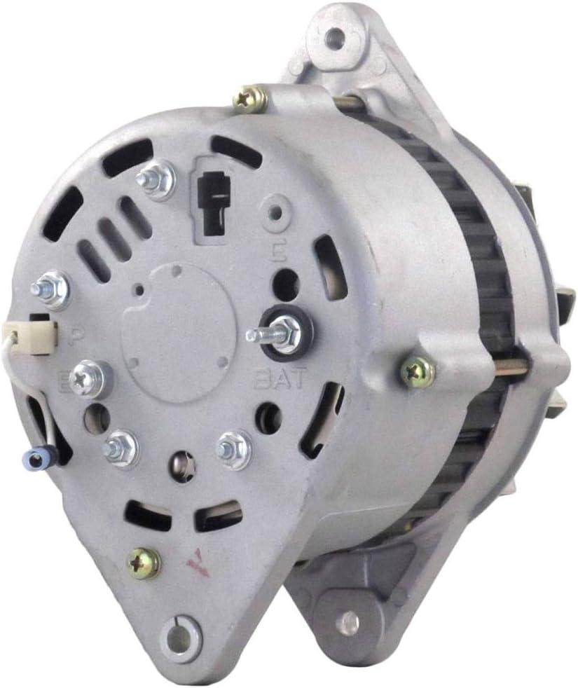 Marine Grade Replacement 80A Alternator 4JH5E Replaces Yanmar 119573-77201
