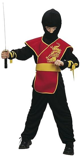 Boland - Disfraz de guerrero ninja para niño, talla M ...