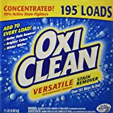 oxy spoon - OxiClean Versatile Stain Remover 195 Loads 11 lbs