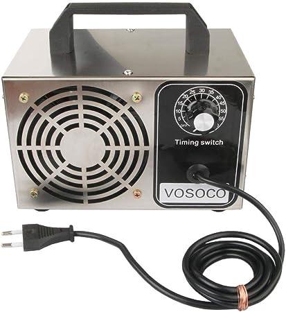 Generador de ozono 28g Máquina de ozono Acero Inoxidable ...